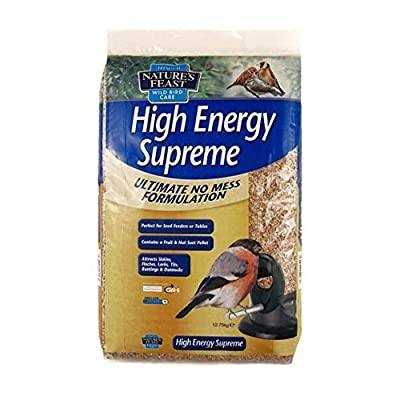 Nature's Feast High Energy Supreme Bird Seed Feeder Mix, 12.75 kg by Westlands Horticulture Ltd