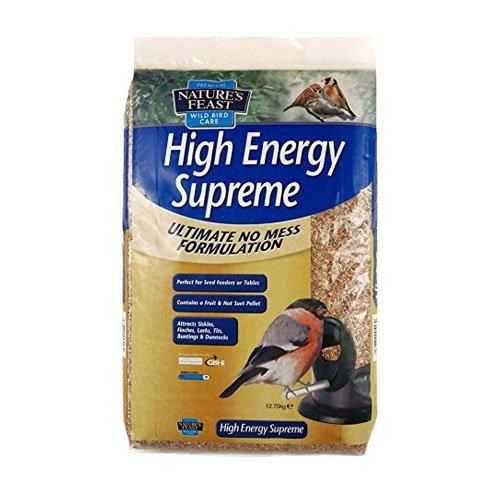 Natures Feast High Energy No Mess 12 Seed Blend 12.75kg 2500557