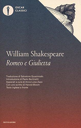 Romeo e Giulietta. Testo inglese a fronte (Oscar classici) por William Shakespeare