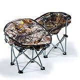 Lucky Bums Moon Camp Komfort leicht strapazierfähigem Stuhl mit Tragetasche Small Realtree APHD