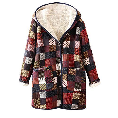 Abrigos de otoño Invierno, Chaquetas Mujer Invierno, Outwear Floral P