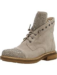 Alma en Pena488 - botines de caño bajo Mujer , color gris, talla 37