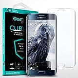 moex 3D Panzerfolie für Samsung Galaxy S6 Edge | Panzerglas Full Screen Glasfolie [Tempered Glass Curved] Protector Glas Displayschutz-Folie für Samsung Galaxy S6 Edge Schutzfolie, Transparent