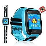 Kinder Smart Watch Phone für Jungen Mädchen SOS-Kamera Sim Kartensteckplatz Touchscreen-Spiel Smartwatch für Kinder Geburtstagsgeschenk