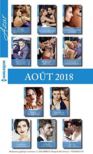 11 romans Azur + 1 gratuit (nº3982 à 3992 - Août 2018)