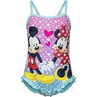 CARTOON WORLD Costume Mare Piscina Intero Disney Minnie e Topolino da 3 a 8  Anni - 583cb3ca010e