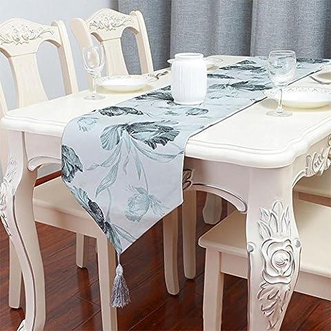 ZB Paño de algodón simple y moderno y tabla impreso corredor-estilo bandera americana té ,