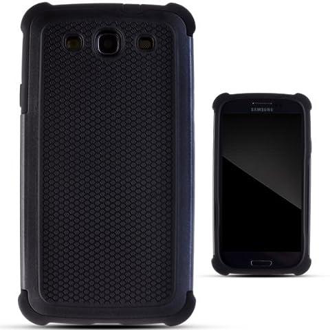Zooky® Noir EXTREME ARMÉE Coque / Étui / Cover pour Samsung Galaxy S3 (i9300) / S3 Neo (I9301I)