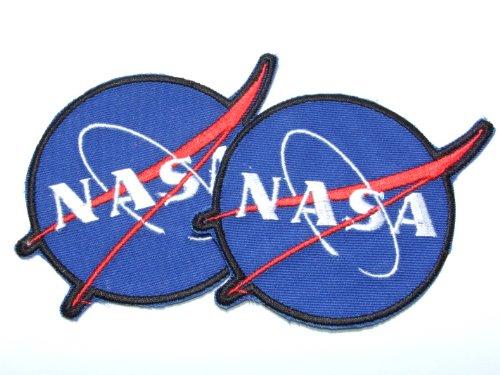 Toppa da cucire applicazione NASA distintivo aerospaziale (Nasa Patch)
