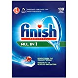 Finish All in One Dishwasher Tablets Original, 100 Tablets