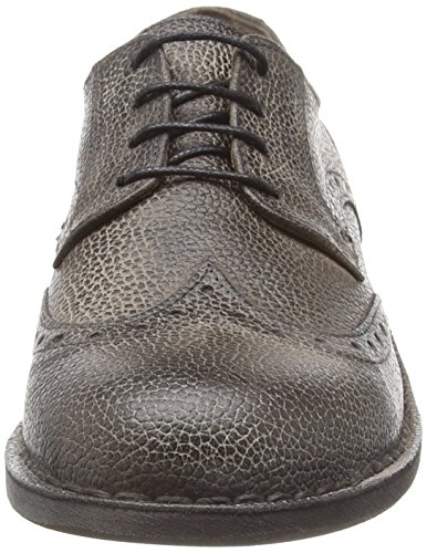 FLY London Idal903fly, Brogues Homme Marron (Mocca 011)