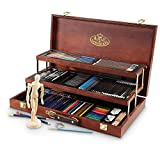 ARTISTS 134 PIECE SKETCH AND DRAW DELUXE ART SET BY ROYAL & LANGNICKEL