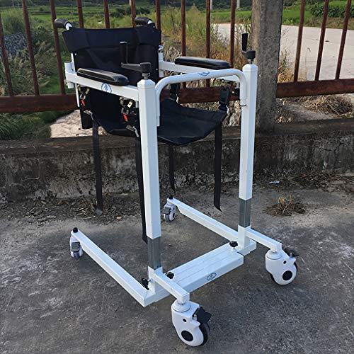 51 U 2tk9GL - YXP Elevador de Pacientes con función telescópica, Capacidad de Peso de 500 LB, Elevador de Eslinga de Transferencia de Pacientes para Personas discapacitadas de Edad Avanzada