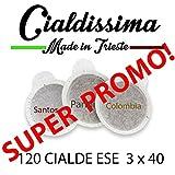 Best caffè in cialde - Cialdissima 120 CIALDE ESE CAFFÈ 44 mm FILTRO Review
