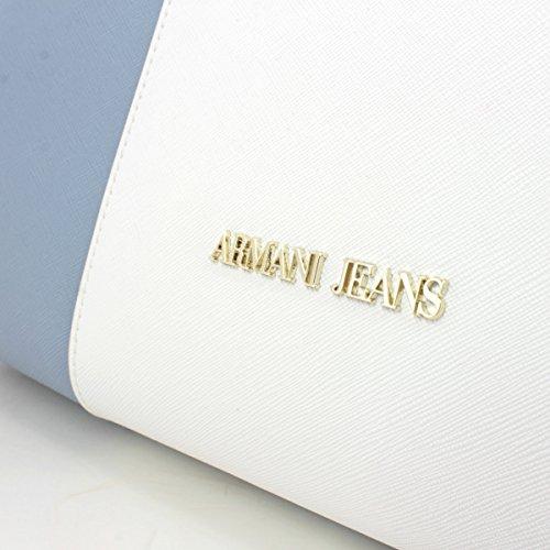 Armani - 922574CC857, Borsa shopper Donna 14831 LT BLU/BIANCO/BLU