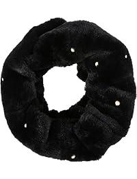 Sakkas Sabby langer dünner Faux-Pelz-Perlen-Verschönerung, warme weiche Unendlichkeit Schal