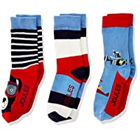Joules Three Pack Character Sock Set - Multi Flying Dog