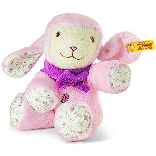Steiff-Lenchen-Lamb-PinkWhite