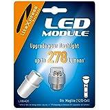 LiteXpress LED Upgrade Modul / 278 Lumen für 2 C/D-Cell Maglite Taschenlampen LXB405