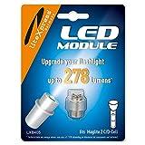 LiteXpress LXB405 - Módulo LED para linterna Maglite 2C/D-Cell, 278 lúmenes