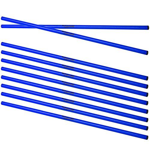 Cawila Trainingsstangen 10x, Blau, 100 cm, 00930051