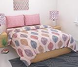 #4: Kritarth Handicrafts Comforter Cum Duvet Set with 1 Bedsheet, 1 Comforter and 2 Pillow Covers (Size 100 inch x 90 inch)