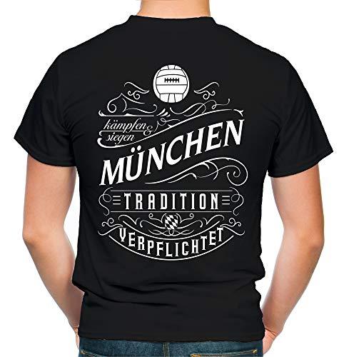 Mein leben München T-Shirt | Freizeit | Hobby | Sport | Sprüche | Fussball | Stadt | Männer | Herren | Fan | M1 FB (M)