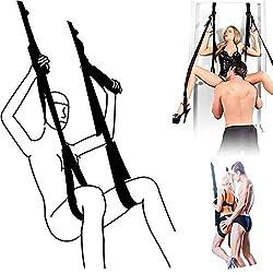 Jouets de balançoire de porte romantiques pour couples Jouet de balançoire de yoga fantaisie intérieur
