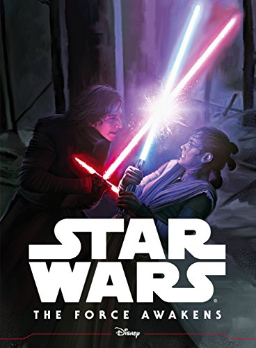 Star Wars the force awakens illustrated storybook