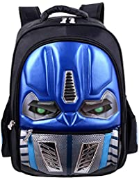 Mochila Para Niños Bolsa Impermeable Para Niños De Dibujos Animados Bolsa Para Libros Transformers Bolsa Escolar