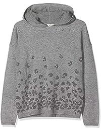 IKKS Junior Pull Maille Loose Imprime Leopard suéter para Niñas