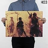 Loheag Clinor Naruto Shippuuden Poster, Anime Fanartikel Manga Poster   Uzumaki Naruto / Uchiha Madara / Uchiha Sasuke / Uchiha Obito   Wasserdicht Anti-Fade für Außenbereich / Garten / Badezimmer H03