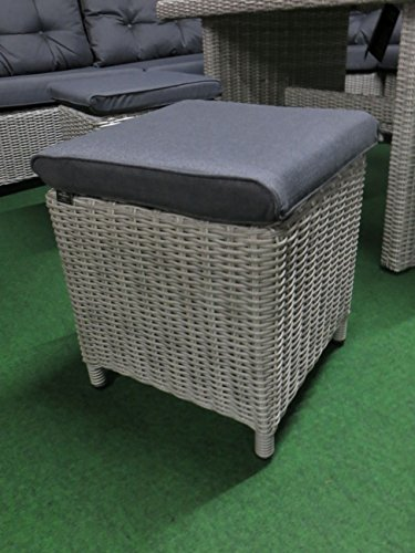 XXL Luxus hohe Dinning Poly Rattan Lounge