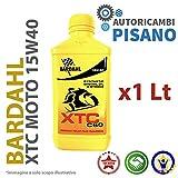 BARDAHL XTC C60 15W50 OLIO MOTO 4T CONF. 1 LT