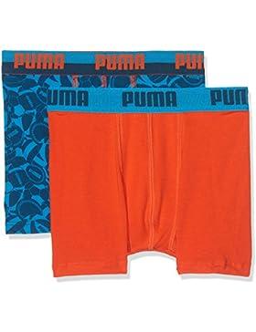 Puma Jungen Basic Sport Boxer 2p Unterhose
