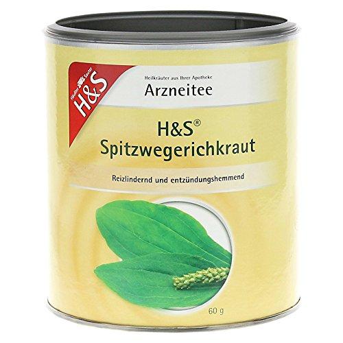H&S Spitzwegerichkraut lose 60 g Tee