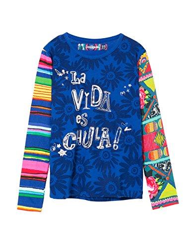 desigual-iowa-t-shirt-fille-bleu-crown-jewel-fr-104-cm-taille-fabricant-4-3-2016