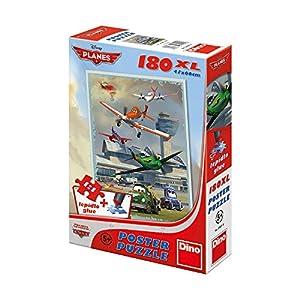 Dino Toys Dino Toys394018 Aircraft - Póster de Puzzle (tamaño XL, 180 Piezas)