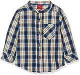 s.Oliver Baby - Jungen Hemd 65.809.21.6957, Blau (Dark Blue Check AOP 58n3), 86