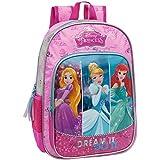 Disney 25423A1 Princess Mochila Escolar, 15.43 Litros, Color Rosa