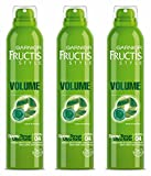 Garnier Fructis Spray Volume Tenue Ultra-Forte - Lot de 3