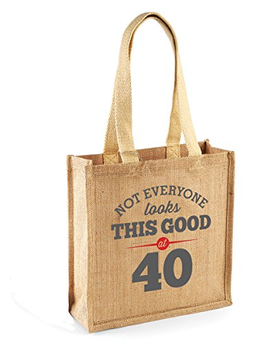 Not Everyone Looks This Good at 40 Tote Shopping Bag Gift