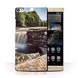 Stuff4 Phone Case for Huawei P8 Max Waterfalls River Design