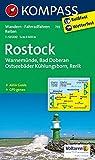 Rostock - Warnemünde - Bad Doberan: Wanderkarte mit Aktiv Guide, Radwegen und Reitwegen. GPS-genau. 1:50000 (KOMPASS-Wanderkarten, Band 735)