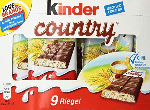 Preisvergleich Produktbild Ferrero KinderCountry 2516457 VE9