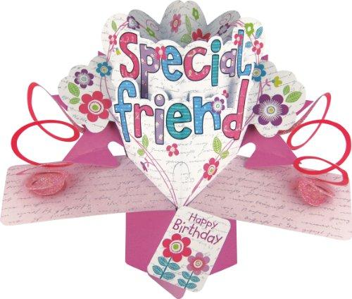Special Friend Birthday Card Amazoncouk – Special Birthday Card for Friend