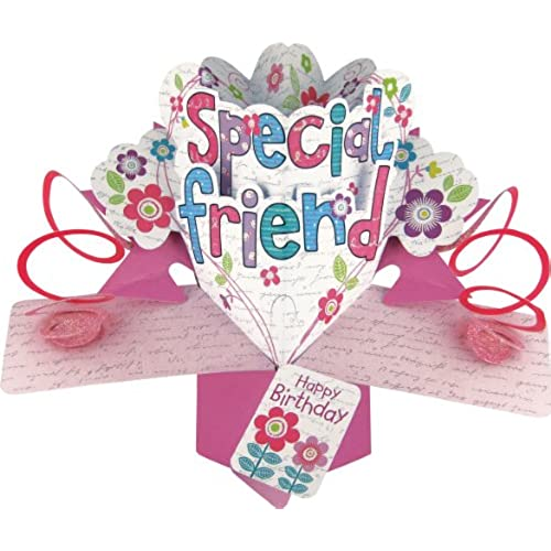 Special Friend Birthday Card Amazoncouk