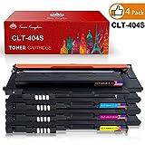 Toner Kingdom Cartouche de Toner Compatible Samsung CLT-P404C / CLT-404S Toner Cartridge pour Samsung Xpress SL-C480 SL-C480FW SL-C480W SL-C480FN SL-C430 SL-C430W SL-C482 SL-C482W SL-C482FW SL-C432
