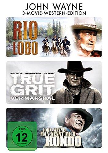 Bild von Rio Lobo / True Grit - Der Marshal / Man nennt mich Hondo [3 DVDs]