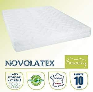 matelas 100 latex 90x190 novolatex cuisine. Black Bedroom Furniture Sets. Home Design Ideas